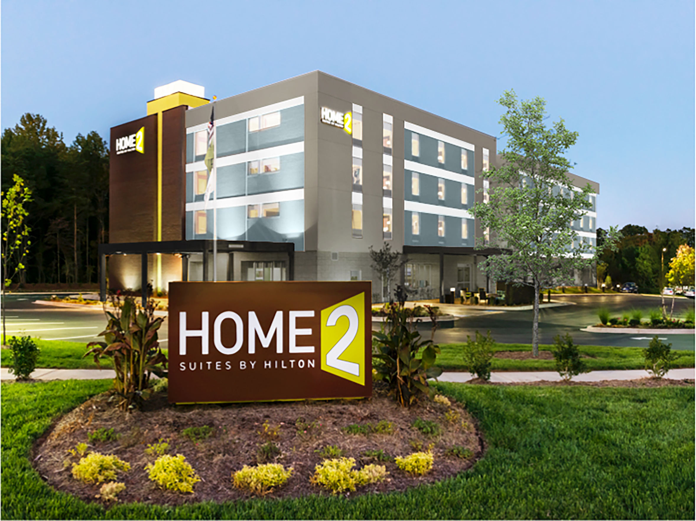 Home2 suites brings a modern extended stay option to the for Homes 2